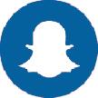 Snapchat social media icon